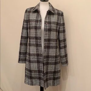 Brooks Brothers wool topper coat